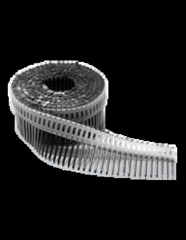 Rullnaelad 0° plastseotud 50-65 mm